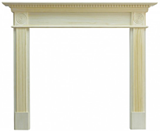 Focal Point Fires Woodthorpe Fire Surround - Pine