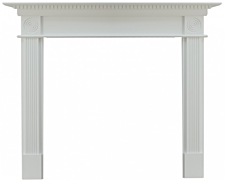 Focal Point Fires Woodthorpe Fire Surround - White