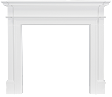 Focal Point Fires Montana Fire Surround - White