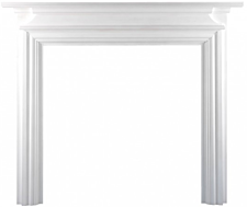Focal Point Fires Charlottesville Fire Surround - White
