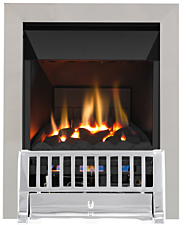 Focal Point Fires Farlam High Efficiency Gas Fire - Chrome