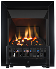 Focal Point Fires Farlam High Efficiency Gas Fire - Black