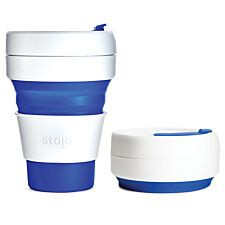 Stojo Collapsible Pocket Cup - Blue