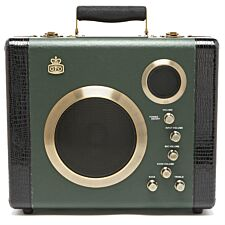 GPO Retro Manga Bluetooth Speaker & Amplifier System - Green / Black