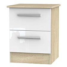 Goodland 2-Drawer Cabinet - White