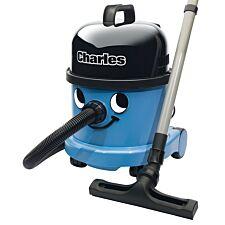 Numatic Charles CVC370 Wet & Dry Cylinder Cleaner - Blue