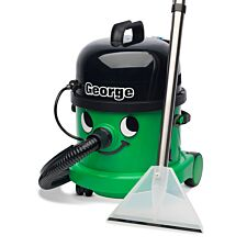 Numatic George GVE370 3-in-1 Wet & Dry Cylinder Vacuum Cleaner - Green
