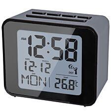 Acctim Radio Controlled Alarm Clock - Black