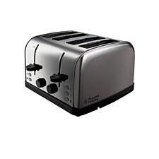 Russell Hobbs 18790 Futura 4–Slice Toaster – Stainless Steel