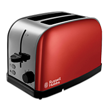 Russell Hobbs 18781 Dorchester 2-Slice Toaster - Red
