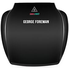 George Foreman 23420 5-Portion Health Grill - Black