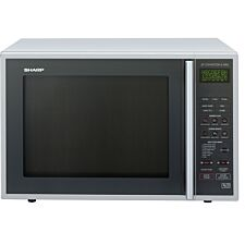 Sharp R959SLMAA 40L 900W Convection Microwave with 1300W Quartz Grill - Silver