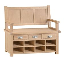Wisborough Ready Assembled Large Hall Bench