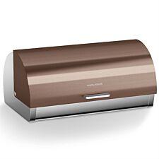 Morphy Richards Accents Roll Top Bread Bin - Copper