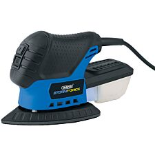 Draper 230V Tri-Palm Sander with 28 Accessories