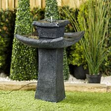 Smart Solar Pagoda Garden Fountain