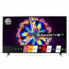 "LG 55NANO906NA 55"" 4K NanoCell Smart TV with in-built Google Assistant and Alexa"