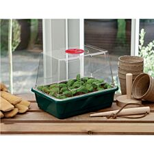 Worth Gardening Small High Dome Propagator with Holes