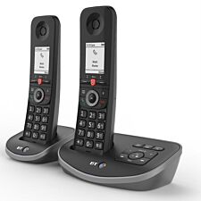 BT Advanced Cordless Home Phone with Nuisance Call Blocking and Answering Machine - Twin