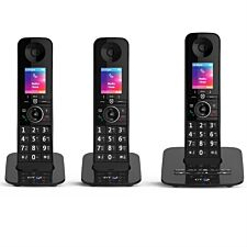 BT Premium Cordless Home Phone with Nuisance Call Blocking, Mobile Sync and Answering Machine - Trio