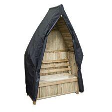 Zest4Leisure Cheltenham Garden Arbour With Storage Box & Cover