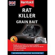 Rentokil Rat Killer Grain Bait Sachet
