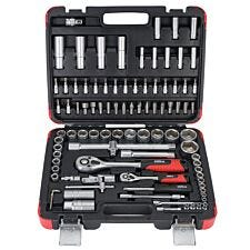 Hilka 94-Piece ¼-Inch & ½-Inch Socket Set