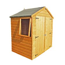 Shire Bute 6ft x 4ft Wooden Apex Garden Shed
