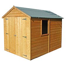 Shire Warwick 6ft x 8ft Wooden Apex Garden Shed