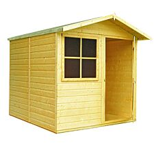 Shire Abri 7ft x 7ft Wooden Apex Garden Shed