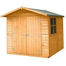 Shire Alderney 7ft x 7ft Wooden Apex Garden Shed