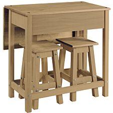 Halea Pine Breakfast Table Set
