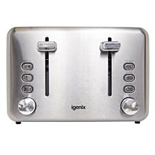 Igenix 4-Slice Toaster - Stainless Steel