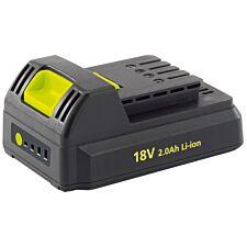 Draper 18V 2Ah Li-Ion Battery Pack