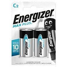 Energizer Max Plus C Batteries - 2 Pack