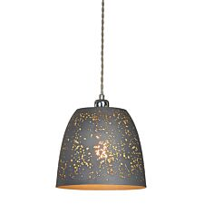 Village At Home Storm Pendant Shade - Grey
