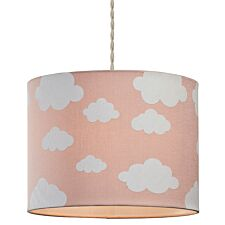 Village At Home Cloudy Day Light Shade - Pink