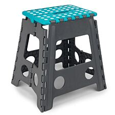 Beldray Large Plastic Hobby Step Stool – Turquoise