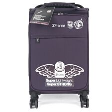 """Zframe D Wheel Purple Suitcase - 18"""""""