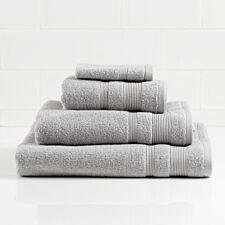 Allure Zero Twist Hand Towel - Silver