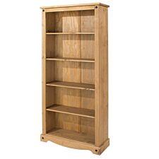 Halea Tall Pine Bookcase