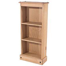 Halea Low Pine Bookcase