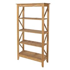 Halea 5-Tier Wide Shelving Unit