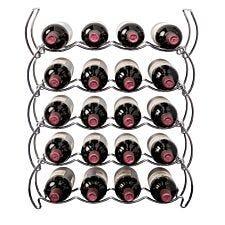 Hahn Stackrack Triple Tier 20 Bottle Wine Rack - Chrome