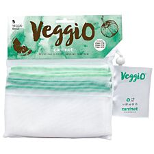 Carrinet Veggio Reusable Fruit and Vegetable Bags - 5 Pack