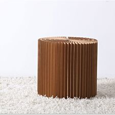 Paper Lounge 50cm Tall Concertina Table - Brown