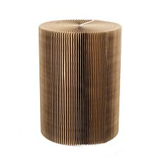 Paper Lounge 70cm Tall Concertina Table - Dark Brown