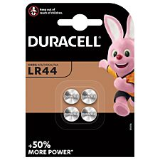 Duracell LR44 Batteries - 4 pack