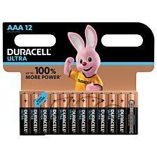Duracell Ultra Power AAA Batteries - 12 pack