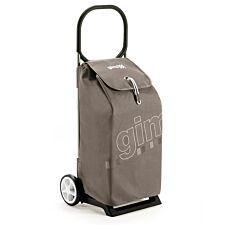 Gimi Italo 52L Shopping Trolley - Grey